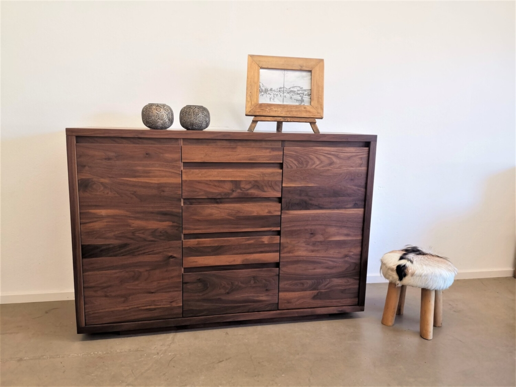 Highboard Massivholz | Manhatten