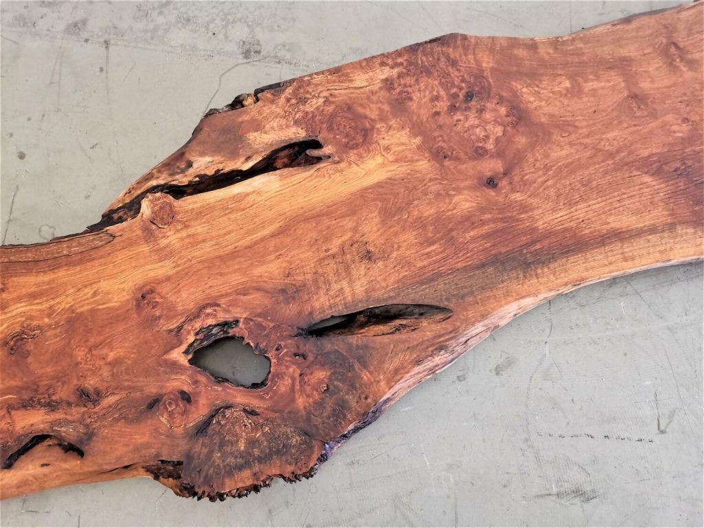 Birne Barplatte mit Baumkante