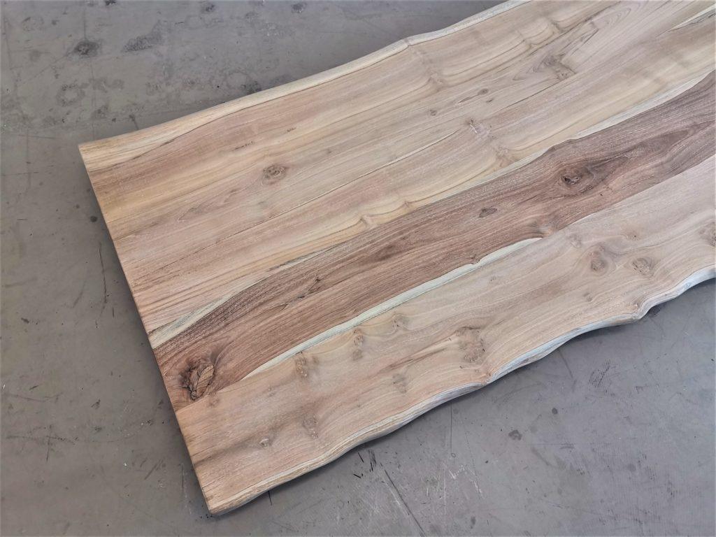 Teak Altholz Tischplatte