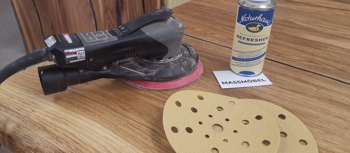 Tipps vom Holzprofi-Wie behebe ich Kratzer